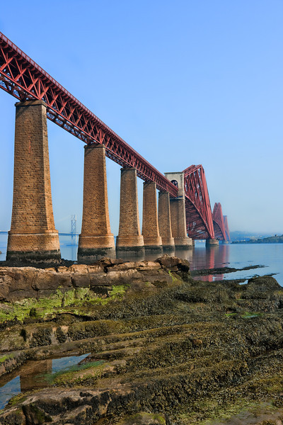 Forth Road Bridge, Queensferry, Scotland